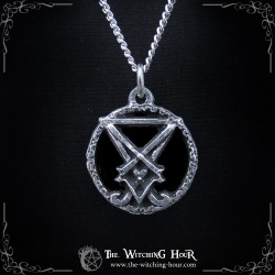"Pendentif Sceau de Lucifer ""The Luciferian Path"""