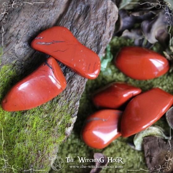 Jaspe rouge - gros modèle