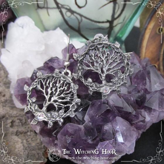 """""""Tree of Gaia"""" tree of life earrings"""