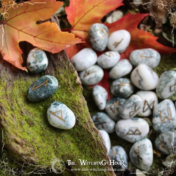 Tree agate runes