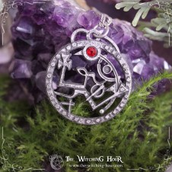 Sigil of Samael pendant