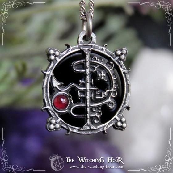 Sigil of Asmoday (Asmodeus) pendant