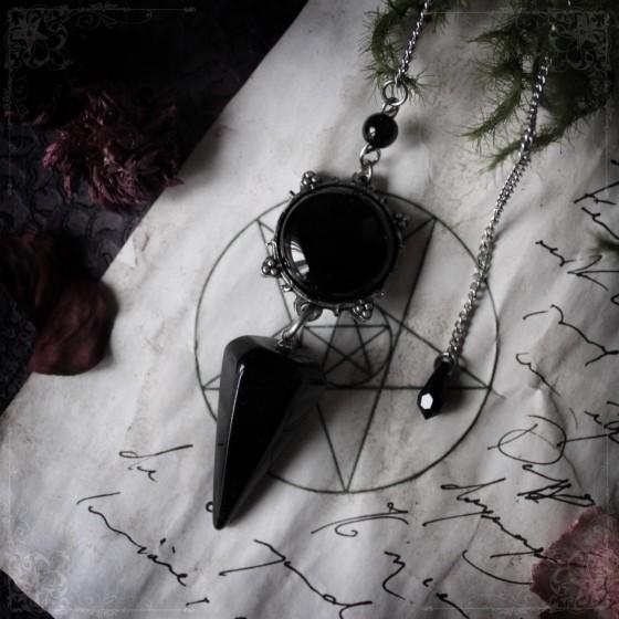 Pendule sigil de Belial en onyx