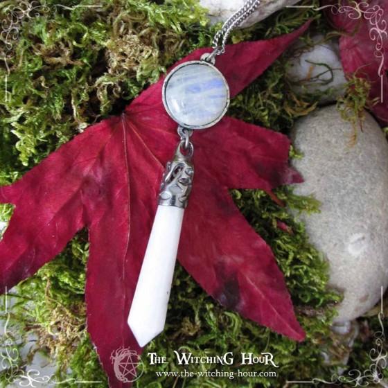 Collier pendule Pentacle