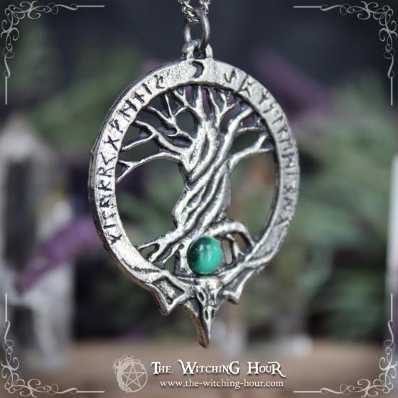 "Tree of life pendant ""Yggdrasil Mysteries"""