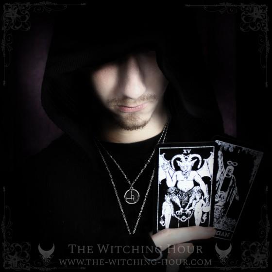 Pendentif sigil de Lilith en onyx