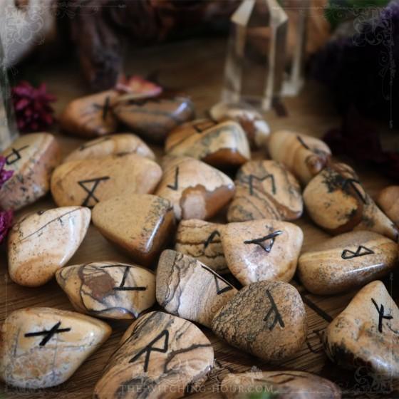 Kalahari desert stone runes