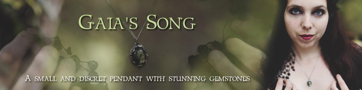 Labradorite pendant Gaia's Song