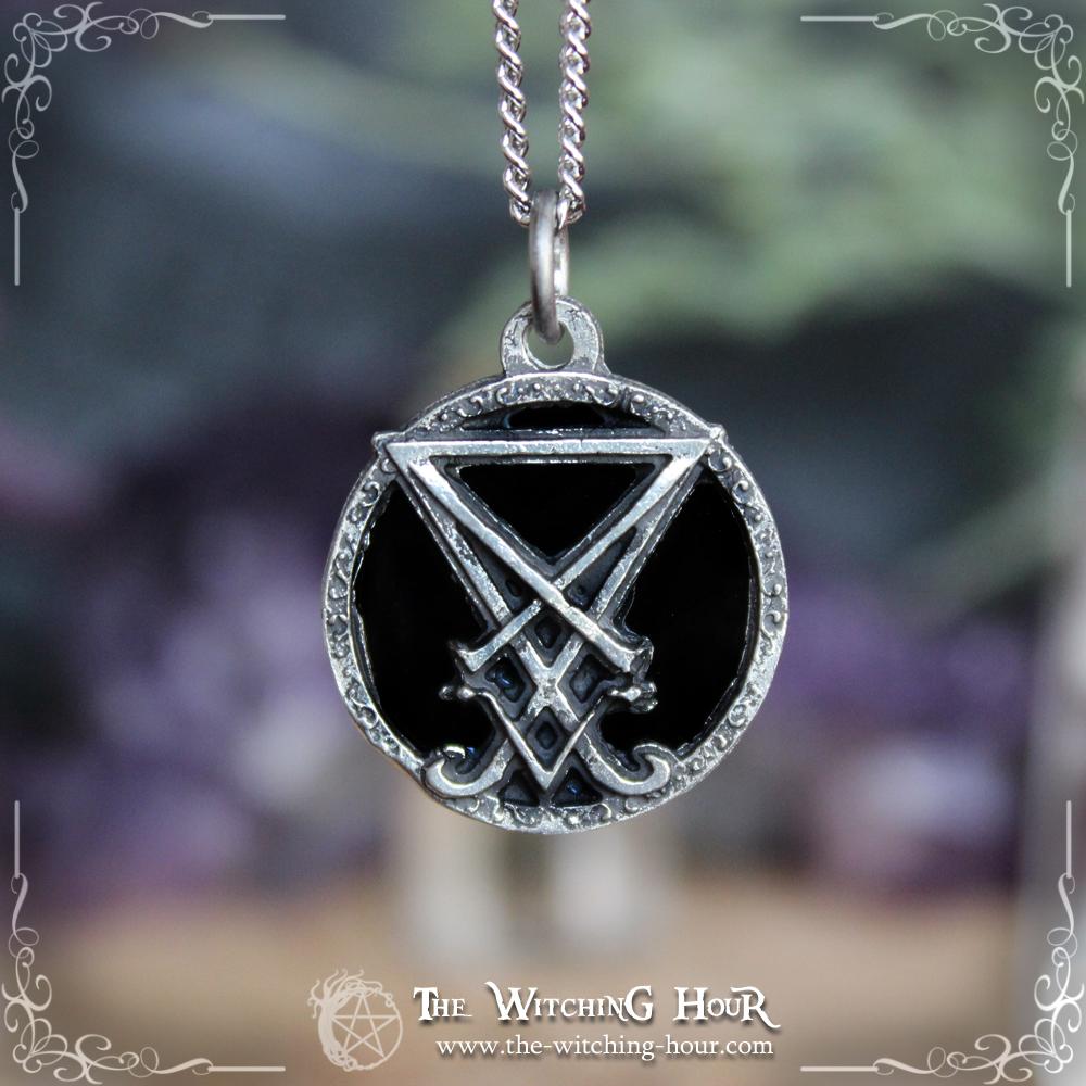 Sigil of Lucifer pendant