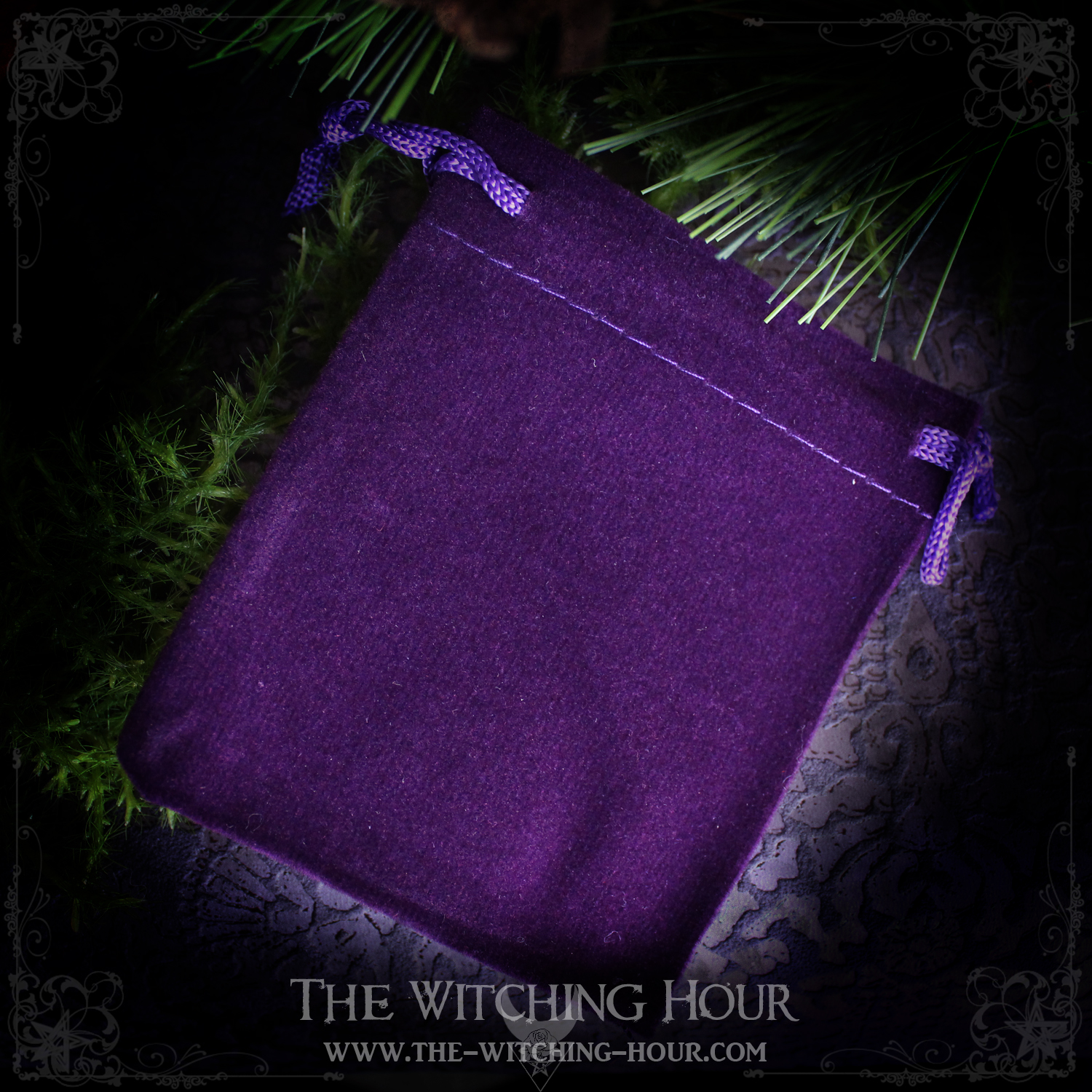 The Witching Hour velvel pouch